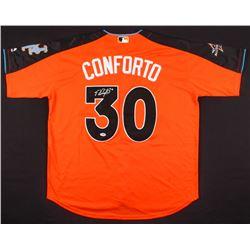 Michael Conforto Signed 2017 All-Star Game Majestic Jersey (PSA COA)