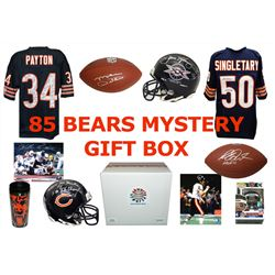 1985 Chicago Bears World Champs Mystery Autograph Gift Box – Series 4 (Limited to 85) – **Grand