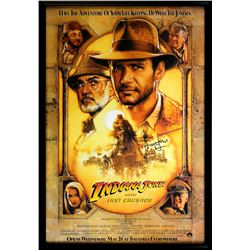 Harrison Ford Signed  Indiana Jones: The Last Crusade  30x43 Custom Framed Poster (Radtke COA)