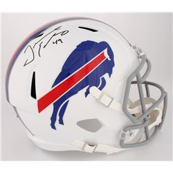 Tremaine Edmunds Signed Buffalo Bills Full-Size Speed Helmet (JSA COA)