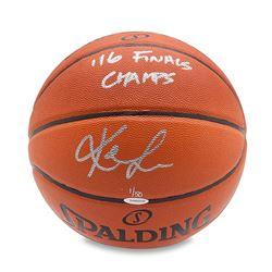 "Kevin Love Signed LE Basketball Inscribed ""'16 Finals Champs"" (UDA COA)"