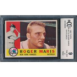 1960 Topps #377A Roger Maris WB (BCCG 9)