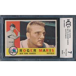 1960 Topps #377A Roger Maris WB (BCCG 7)