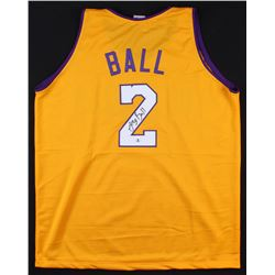 Lonzo Ball Signed Los Angeles Lakers Jersey (Beckett COA)