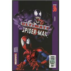 """Stan Lee Signed 2003 """"Ultimate Spider-Man"""" Issue #36 Marvel Comic Book (Lee COA)"""