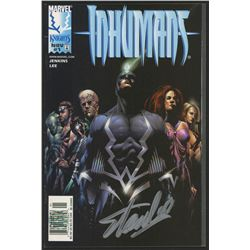"Stan Lee Signed 1998 ""Inhumans"" Issue #1 Marvel Comic Book (Lee COA)"