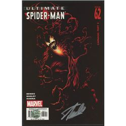 "Stan Lee Signed 2004 ""Ultimate Spider-Man"" Issue #62 Marvel Comic Book (Lee COA)"