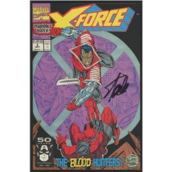 "Stan Lee Signed 1991 ""X-Force"" Issue #2 Marvel Comic Book (Lee COA)"