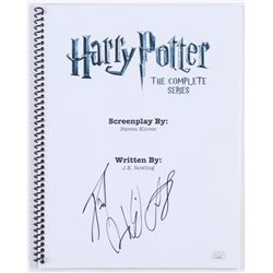 "Daniel Radcliffe Signed ""Harry Potter: The Complete Series"" Full Movie Script (JSA COA)"