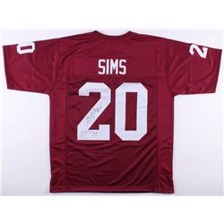 "Billy Sims Signed Oklahoma Sooners Jersey Inscribed ""H.T.- 78"" (JSA COA)"
