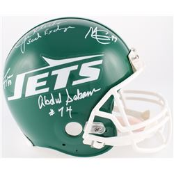 "Jets ""New York Sack Exchange"" Full-Size Authentic On-Fileld Helmet Signed by (4) with Joe Klecko, Ab"