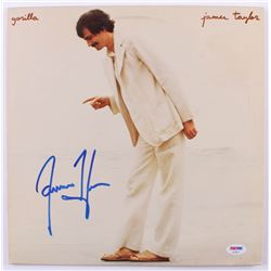 "James Taylor Signed ""Gorilla"" Vinyl Record Album (PSA COA)"