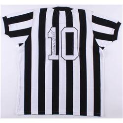 Pele Signed FC Santos Jersey (PSA COA)