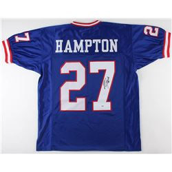 Rodney Hampton Signed New York Giants Jersey (PSA COA)