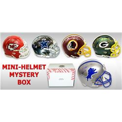Schwartz Sports Football Superstar Signed Mystery Box Mini Helmet - Series 10 - **Barry Sanders Helm