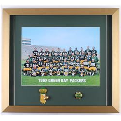 1960 Green Bay Packers 17.5x19.5 Custom Framed Photo Display
