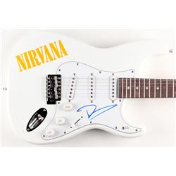 "Dave Grohl Signed ""Nirvana"" 39"" Electric Guitar (Beckett COA)"