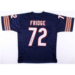 "William Perry Signed Chicago Bears ""Fridge"" Jersey (JSA COA)"