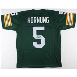 Paul Hornung Signed Green Bay Packers Jersey (JSA Hologram)