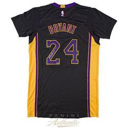 Kobe Bryant Signed Los Angeles Lakers Authentic Adidas Jersey (Panini COA)