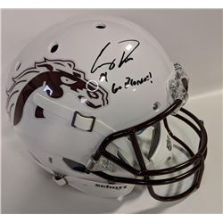 "Corey Davis Signed Western Michigan Broncos Full-Size Helmet Inscribed ""Go Broncos!"" (JSA COA)"