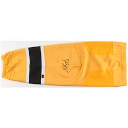 Patrice Bergeron Signed Boston Bruins Game-Worn Sock (Your Sports Memorabilia Store COA)