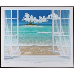 "Dan Mackin - ""In My Room"" Signed Limited Edition 20x24 Fine Art Giclee #/275 (Mackin COA  PA LOA)"