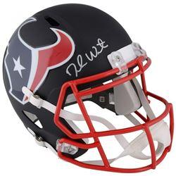 Deshaun Watson Signed Houston Texans Custom Matte Black Full-Size Helmet (Fanatics Hologram)