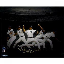 "Mariano Rivera Signed New York Yankees ""Evolution"" 16x20 Photo Inscribed ""HOF 2019"" (Steiner COA)"