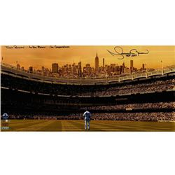 """Mariano Rivera Signed New York Yankees """"Stadium Overlook"""" 16x32 Limited Edition Photo Inscribed """"Fro"""