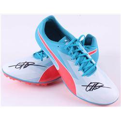 Usain Bolt Signed Pair of (2) Puma evoSpeed V6 Track Shoes (JSA Hologram)