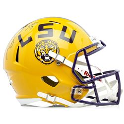 Leonard Fournette Signed LSU Tigers Full-Size Speed Helmet (Panini COA)