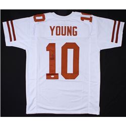Vince Young Signed Texas Longhorns Jersey (JSA COA)