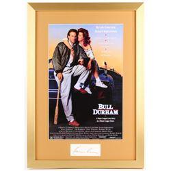 "Kevin Costner Signed ""Bull Durham"" 17x24 Custom Framed Cut Display (PSA LOA)"