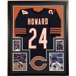 Jordan Howard Signed Chicago Bears 34x42 Custom Framed Jersey (JSA COA)