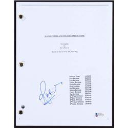 "Rupert Grint Signed ""Harry Potter and The Sorcerer's Stone"" Full Script (Beckett COA)"