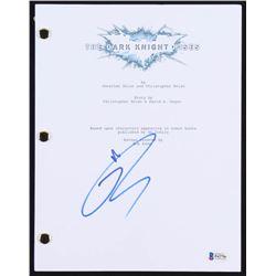 "Tom Hardy Signed ""The Dark Knight Rises"" Movie Script (Beckett COA)"
