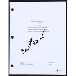 """Carol Burnett Signed """"The Carol Burnett Show"""" Episode Script (Beckett COA)"""