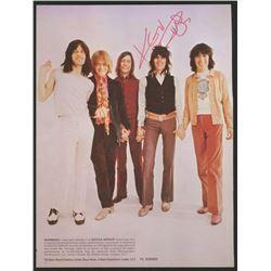 Keith Richards Signed 6x9 Photo (JSA ALOA)