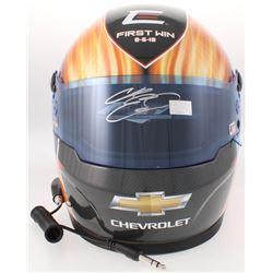 Chase Elliott Signed NASCAR First Win Limited Edition Full-Size Helmet #/228 (Elliott COA)