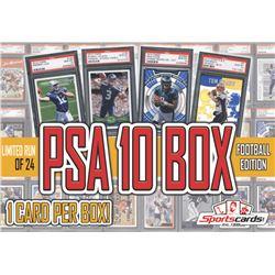 """PSA 10 Box"" Football Edition! (1) PSA 10 Per Box!"