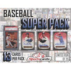 """Baseball Super Pack"" Mystery Box - (13) CARDS per pack – *LOADED*"