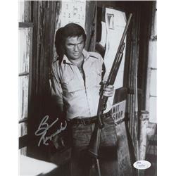 "Burt Reynolds Signed ""White Lightning"" 8x10 Photo (JSA COA)"