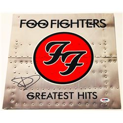 "Dave Grohl Signed Foo Fighters ""Greatest Hits"" Vinyl Record Album (PSA COA)"