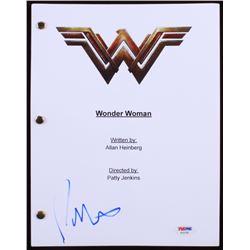 "Patty Jenkins Signed ""Wonder Woman"" Movie Script (PSA COA)"