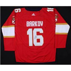 Aleksander Barkov Jr. Signed Florida Panthers Jersey (JSA COA)