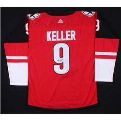Clayton Keller Signed Arizona Coyotes Jersey (JSA COA)