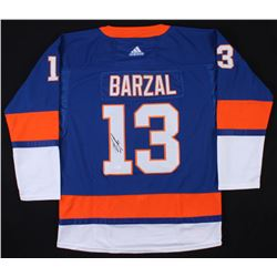 Mathew Barzal Signed New York Islanders Jersey (JSA COA)