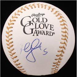 David Wright Signed Gold Glove Baseball (JSA COA)