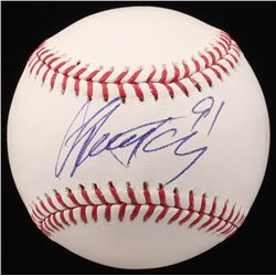 Steven Stamkos Signed OML Baseball (JSA COA)